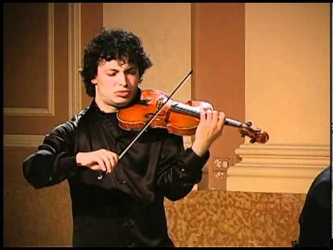 Yevgeny Kutik plays Achron - Hebrew Melody