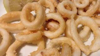 Calamari Fritti ITALIAN FOOD RECIPES | EASY TO LEARN | RECIPES LIBRARY