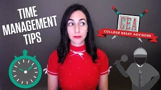 Time Management Tips for College Essay Writing