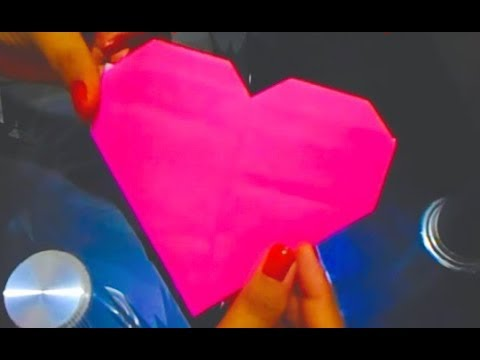 How To Make An Origami Paper Heart