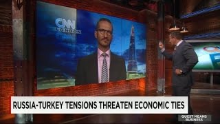 Russia-Turkey tensions threaten economic ties