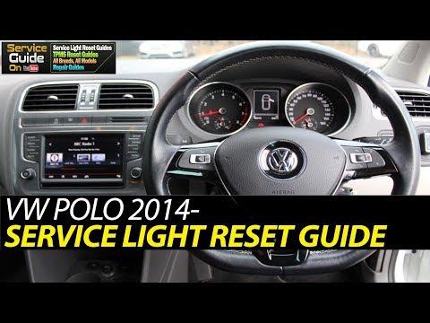 VW POLO 2014-2018 Service Light Reset