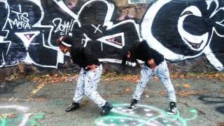 Mark Ronson ft Bruno Mars UPTOWN FUNK - Popping & Locking - Choreography by Russell & Gin