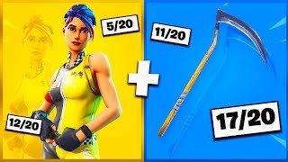 🔥 I NOTE YOUR 20 TRYHARD SKIN COMBOS ON FORTNITE! v33