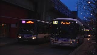 La ligne de bus RATP 151 Porte de Pantin Bondy Jouhaux Blum