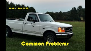 What to Look for When Buying a 1980-96 F150