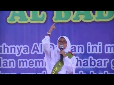 Helma Mike Folina : Pidato B. Arab _santri kls VI SDIT Al Badr