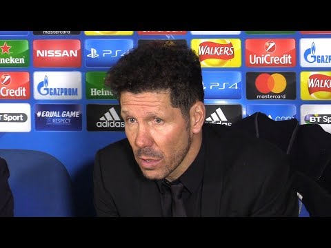Atletico Madrid 1-1 Chelsea - Diego Simeone Full Post Match Press Conference - Champions League
