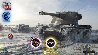 World of Tanks. VNS-SUSHI RAO.... chill zone live