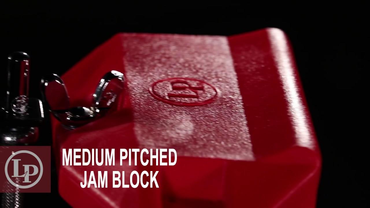 Red LP Jam Block Medium Tone