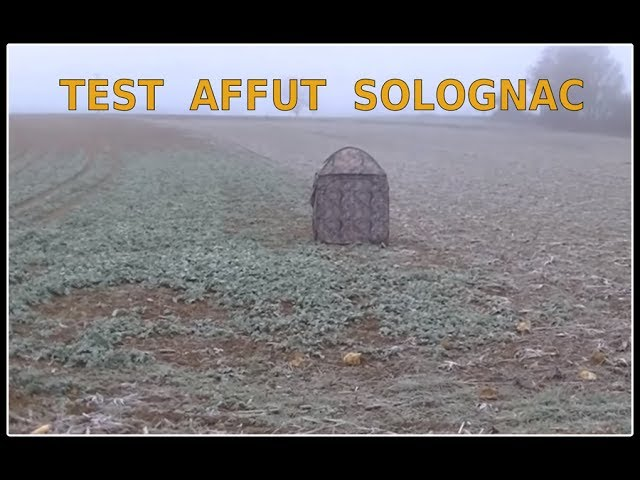 Test Affut Solognac Au Pigeon Youtube