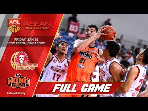 Singapore Slingers vs Mono Vampire Basketball Club | LIVE NOW | 2017-2018 ASEAN Basketball League