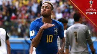 Late Winner Brazil Leaves It To The Final Minutes To Defeat Costa Rica