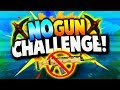 No Gun Challenge WIN! (Fortnite Battle Royale)