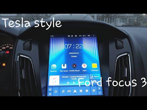 Обзор на магнитоллу в стиле тесла на форд фокус 3 Teyes Tpro 2/32gb