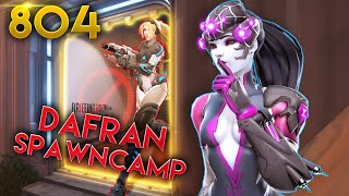 DAFRAN Spawn Camping SPACE..?!   Overwatch Daily Moments Ep.804 (Funny and Random Moments)