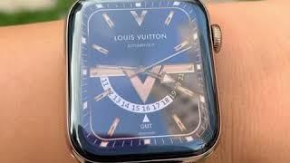 Louis Vuitton Apple watch face