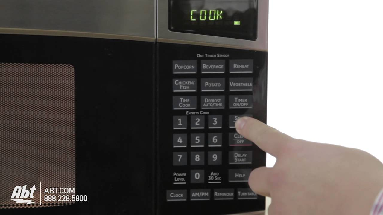 ge profile spacemaker ii microwave oven pem31 ge at abt electronics