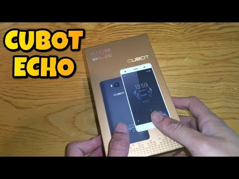 Cubot Echo Unboxing And Review