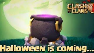 CLASH OF CLANS - Cosa c'è nel calderone? Halloween gift