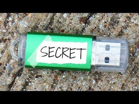 I FOUND A FANS MINECRAFT USB *SECRET*
