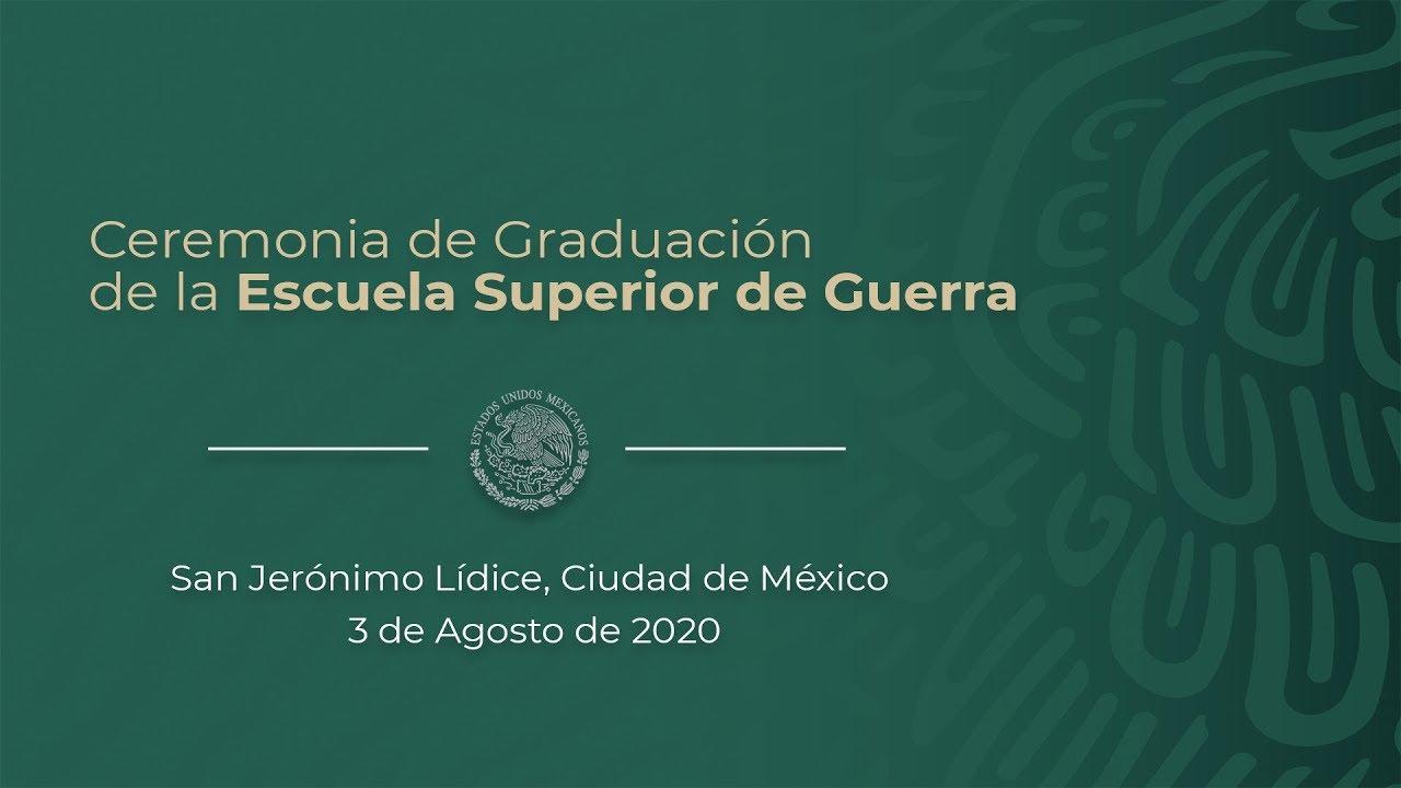 Ceremonia de Graduación de la Escuela Superior de Guerra