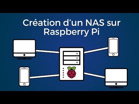 Raspberry Pi : Création et utilisation d'un NAS (Serveur de stockage)