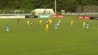 Amichevole Napoli-Anaune Val Di Non 8-0