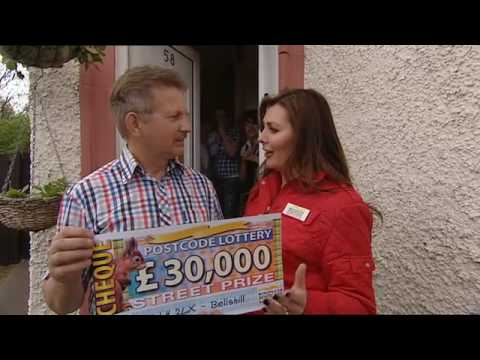 People's Postcode Lottery Street Prize winner Bellshill ML4 2LX
