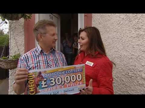 People's Postcode Lottery Street Prize Winner Bellshill ML4 2LX