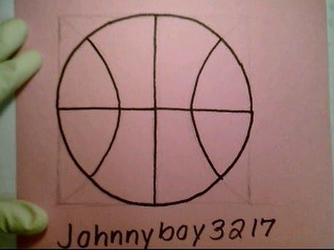How To Draw A Basketball Perfect Circle basquet NBA como dibjar una