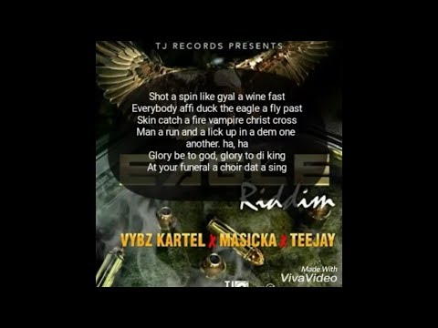Vybz kartel - Eagle - Full lyrics - (Official Audio With the full Lyrics) - June 2017
