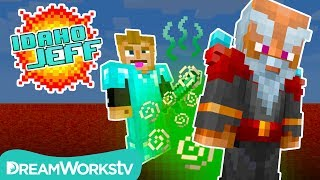 Helping a Farting Wizard in Minecraft | IDAHO JEFF