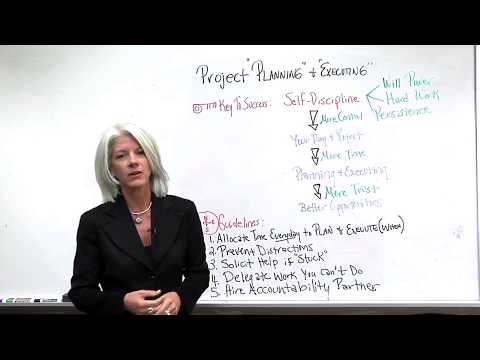 Project Planning: Project Management Planning & Execution Guide