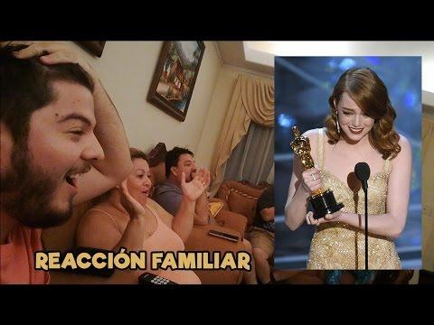Reacción Familiar - Mejor Actriz...