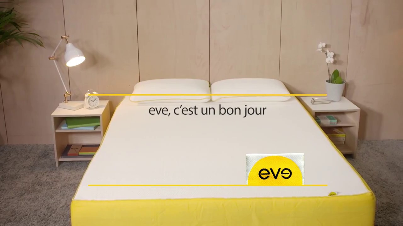 eve matelas l o les bonnes journ es commencent youtube. Black Bedroom Furniture Sets. Home Design Ideas