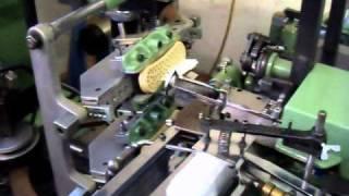 Tufting Machine / Bürstenstanzautomat Schlesinger U/BFA