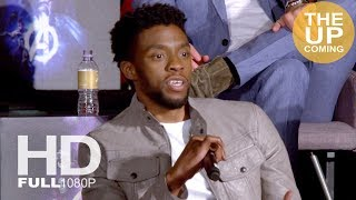 Chadwick Boseman interview Avengers Infinity War: We brought some of Black Panther into it