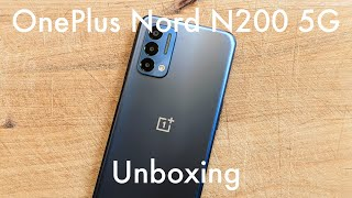 OnePlus Nord N200 5G unboxing ($240): low on price, high on design