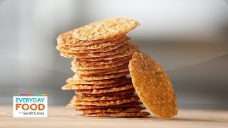 Lacy Almond Cookies - Everyday Food with Sarah Carey