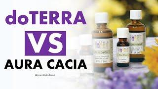 Outstanding doTERRA VS Aura Cacia Essential Oils Overview
