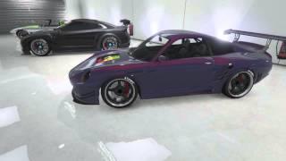 Presentation garage de luxe GTA5