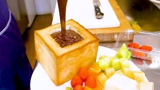 Chocolate Fondue - Japanese street food