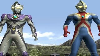 Video Ultraman Legend & Cosmos TAG Team Mode ★Play ウルトラマン FE3 download MP3, 3GP, MP4, WEBM, AVI, FLV Juni 2018
