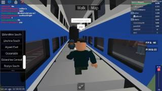 Roblox Terminal Railways TGV Duplex Eldershire Central Low Level to Eldershire South Via Northwell
