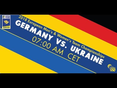 2018 EWTC Germany - Ukraine (Court 1)