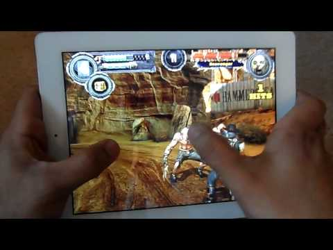 IPAD 4 BLADE SLINGER GAMEPLAY RETINA DISPLAY