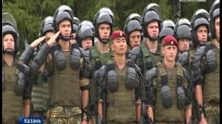 Отряд спецназа Росгвардии Барс отметил юбилей