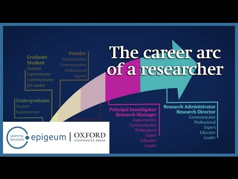 The career arc of a researcher