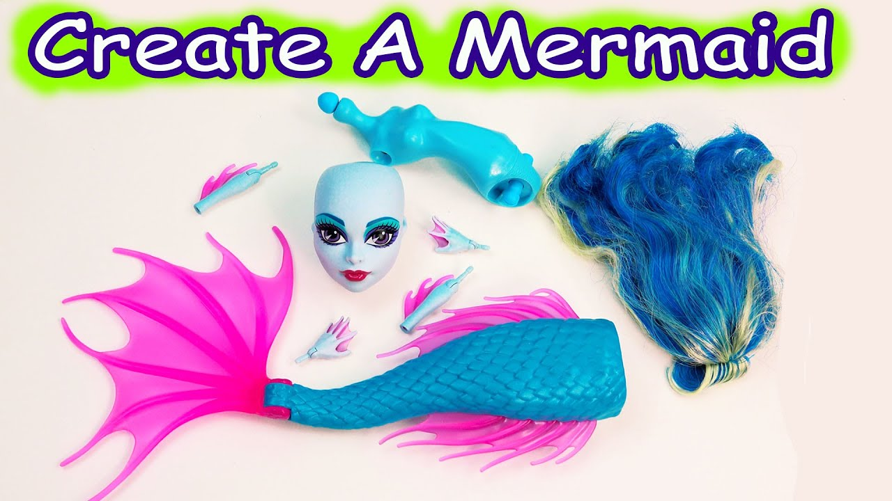 Mermaid siren create a monster high doll add on starter pack cam